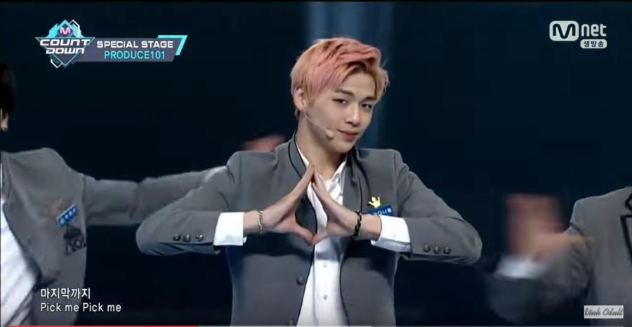 Pink hair guy