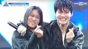 Jang Moon Bok and Hyun Woo
