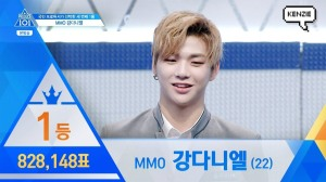 Kang Daniel 1st Place