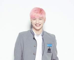 Kang Daniel Pink Hair